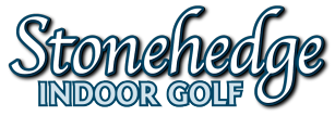Stonehedge Indoor Golf Sticky Logo
