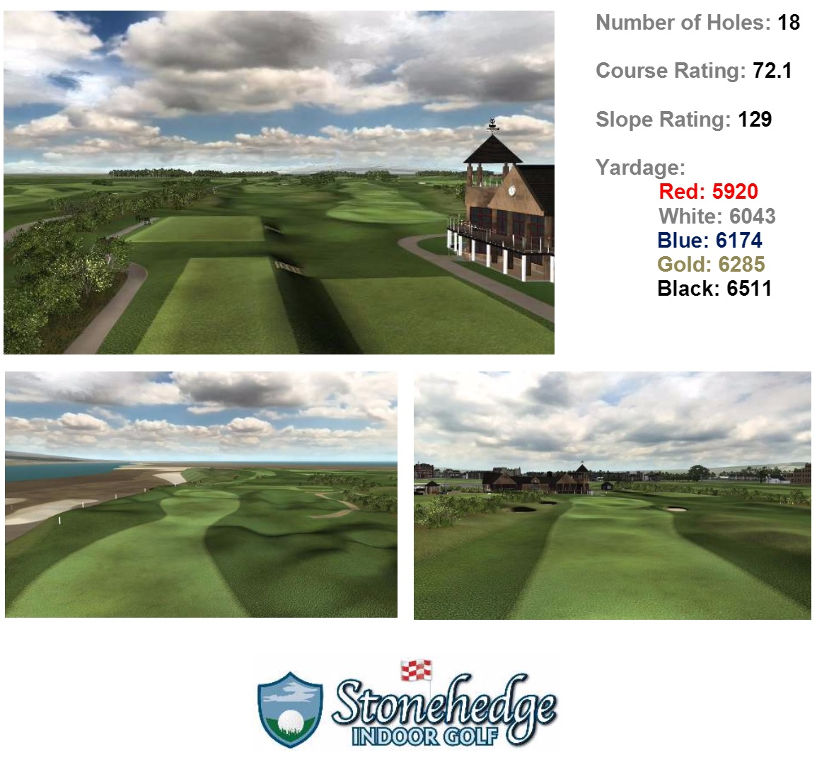 New Course at St Andrews